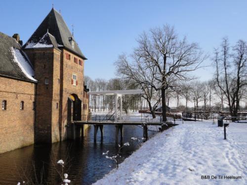 Kasteel Doorwerth in de winter
